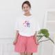 디즈니 유후미니 티자마 홈웨어 파자마 (티셔츠+바지)
