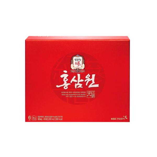 정관장 홍삼원 50ml x60포 x5 / 술깸 수험생 고등학생 상품이미지