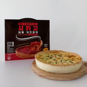 (월드푸드 본사) 리얼 시카고피자 (치즈1+불고기1)