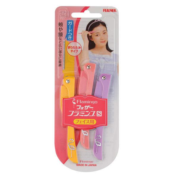 페더 눈썹 수정칼(3P) 여성면도기 눈썹정리 상품이미지