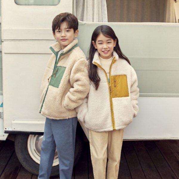 (신세계의정부점) 탑텐키즈 21년 FW신상 아동 덤블보아숏집업 단독 할인 상품이미지