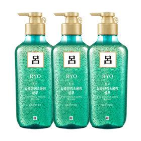 려 청아 딥클렌징쿨링 샴푸 550ml x 3개
