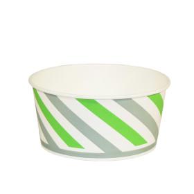 종이용기 520cc 200개/밥 국 그릇 팥빙수 컵밥/종이컵