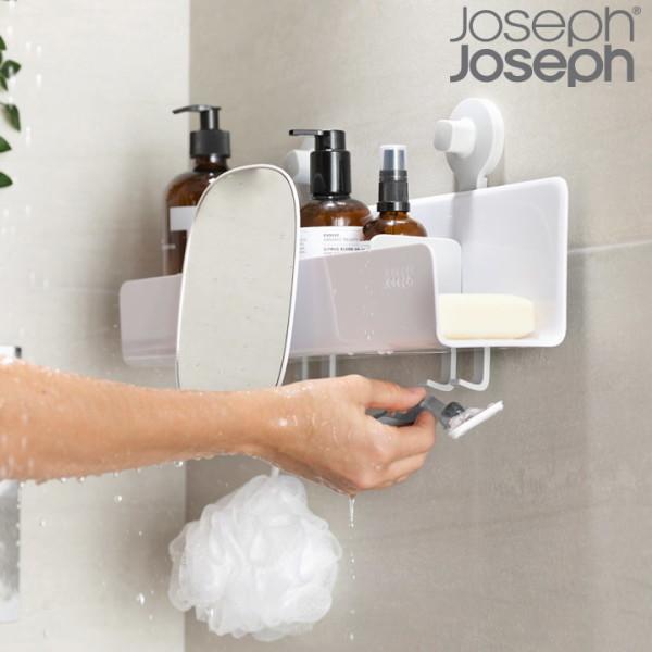 죠셉죠셉   조셉조셉  이지스토어 일자형 욕실선반 1p(무타공 부착형) 상품이미지