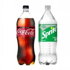 코카콜라제로+스프라이트제로 기획 (1.5L 2입)