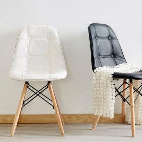 (콤비형)루아체어 의자 인테리어 카페 식탁 에펠 원목