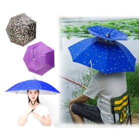 여름 낚시 파라솔 머리 쓰는 그늘막 양산 우산 모자