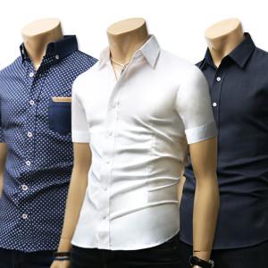 [블루포스]가을신상 남방/솔리드긴팔남자옷/데님청/체크스판셔츠