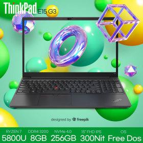 ThinkPad E15 G3-20YJ0001KD 세잔 R7 5800U 8G 256G F