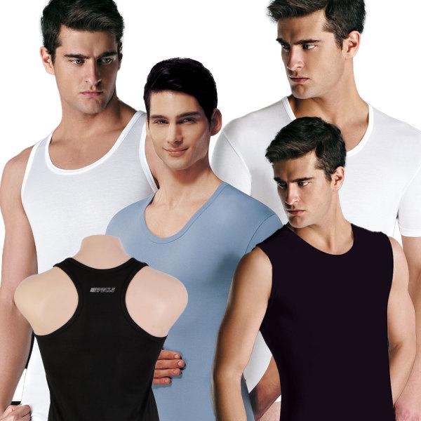 BYC런닝셔츠/메리야스/나시반팔/남자여자남성여성속옷 상품이미지