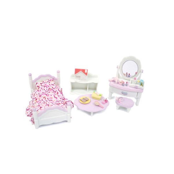 토이트론  5285-소녀방 침대와 화장대세트 상품이미지