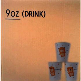 종이컵9OZ(50개x20줄/1000개)원두자판기용