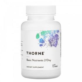 (아이허브) Thorne Research 기초영양소 투퍼데이 60캡슐  종합비타민 멀티비타민 빠른직구