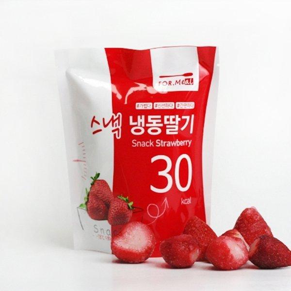 푸드인더홈 냉동 딸기100g x 4팩 (총 400g) 상품이미지