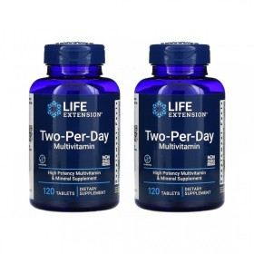 (아이허브) 2개X Life Extension 투 퍼 데이 종합 멀티 비타민 120정 2개월분 빠른직구