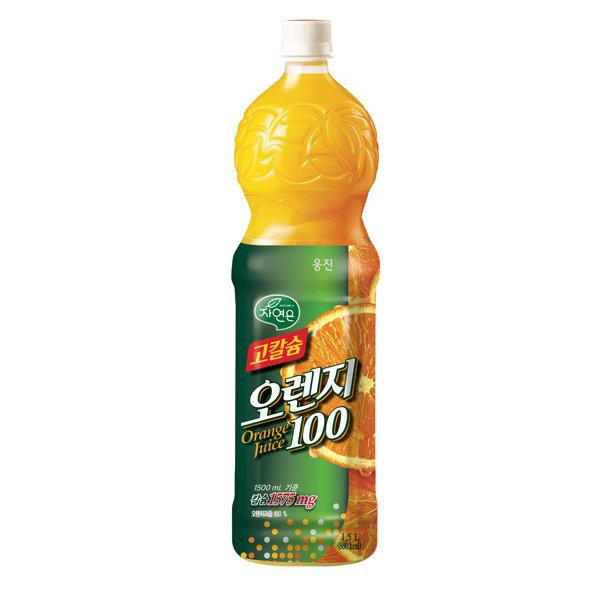 웅진식품 고칼슘 오렌지주스 1.5LX6/과일주스 상품이미지