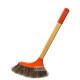 순모털 방비 / 청소브러쉬 빗자루 바닥솔 원목방비