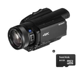 정품 캠코더 FDR-AX700+메모리 64GB / do