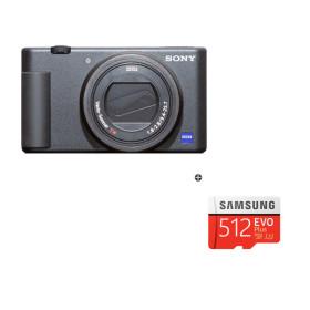 정품 브이로그 카메라 ZV-1 화이트+메모리 512GB / do