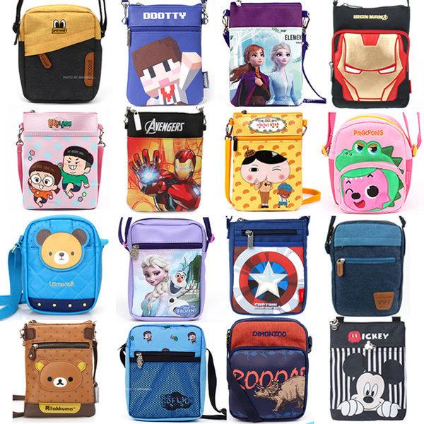 핸드폰가방 휴대폰 크로스백 지갑 파우치 아동 어린이 상품이미지