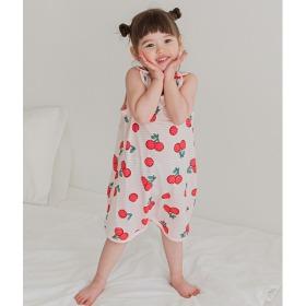 Soft Cherry Sleep Vest Baby Summer Homewear Innerwear