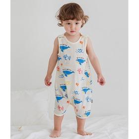 Blue Sea Sleep Vest Baby Summer Homewear Innerwear