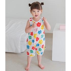 Summer Flower Sleep Vest Baby Summer Homewear Innerwear