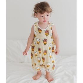 Ice Cream Cone Sleep Vest Baby Summer Homewear Innerwear