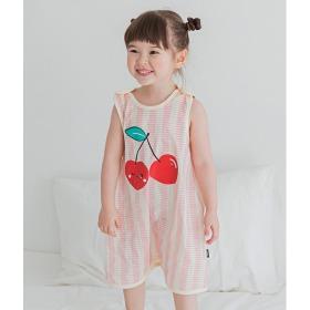 Cherry Juice Sleep Vest Baby Summer Homewear Innerwear