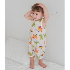 My Dino Sleep Vest Baby Summer Homewear Innerwear