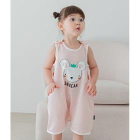 Petit Rat Sleep Vest Baby Summer Indoor Clothes Innerwear