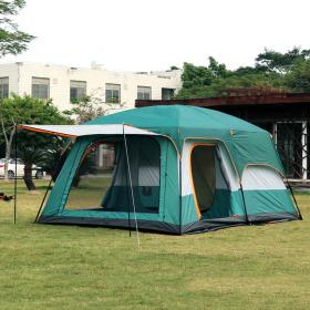 온가족캠핑 거실형 텐트 8인용 (그린)
