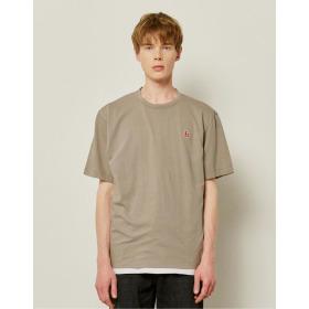 21SS  HIS  에버쿨 수피마 베이지 스탠다드핏 티셔츠 HZTS1B801I2