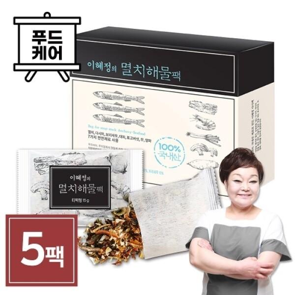 빅마마 이혜정 SK 빅마마 이혜정의 멸치 해물 다시팩 (15g x 10개) 5팩 상품이미지