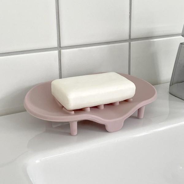 실리베스 소프트 실리콘 비누받침대 1개 물빠짐 비누 상품이미지