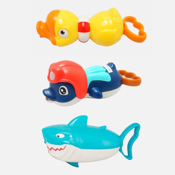 목욕놀이 물총놀이 장난감 워터건  오리 펭귄 상어 상품이미지