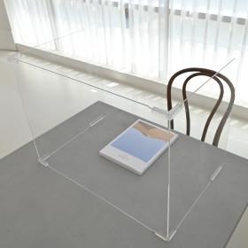 ㄷ자 아크릴 칸막이 1인 책상가림막 식당 학교 회의실