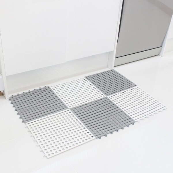 다용도 욕실 미끄럼방지 바닥 발판매트 3개 상품이미지