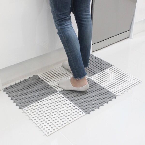 다용도 욕실 미끄럼방지 바닥 발판매트 4개 상품이미지