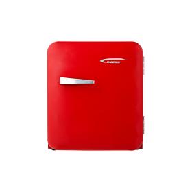 진우전자 레트로 원룸 가정용 소형 냉장고 JWBC-46R