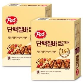 포스트 단백질바 500gX2개: 든든한 영양간식~