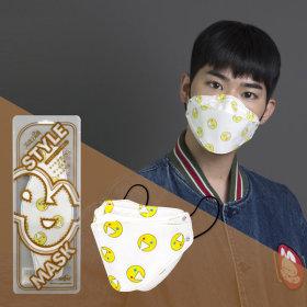 TalkDolls Lets smile mask 10EA 4-Layer Non woven Fabric