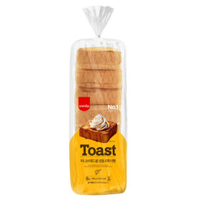 SPC 냉동 허니브레드용 6쪽식빵 2봉