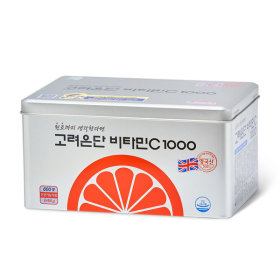 Directly Managed Store KOREA EUNDAN Vitamin C 1000 600 tablets + PURE RED GINSENG