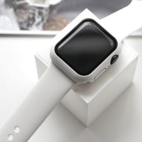애플워치 실리콘 케이스 스트랩 세트 42mm 블랙