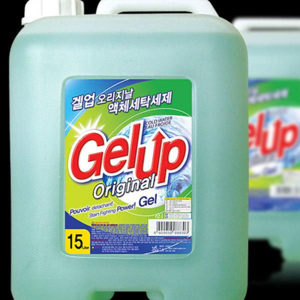 겔업 고농축 액체세제 15L 세탁세제 상품이미지