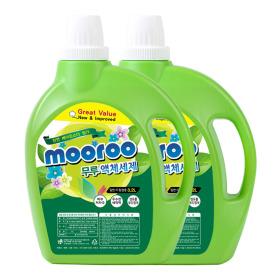 무루 액체세탁세제3.2Lx2개 유아 베이킹 대용량세제