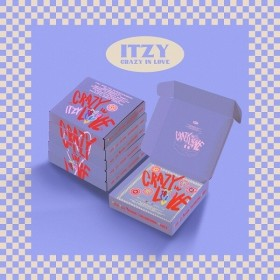 {Synnara gift closed} ITZY - CRAZY IN LOVE (1st Album)