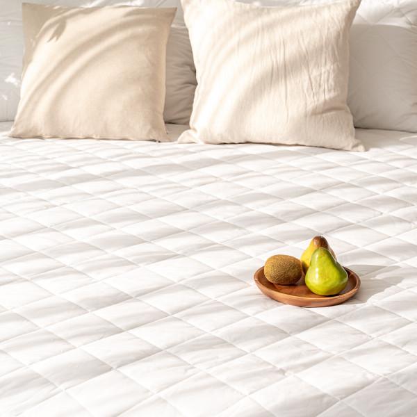 호텔식 면 누빔 싱글 매트리스커버 방수 침대커버 상품이미지