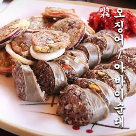 국내산 오징어순대-소 300g(2마리) 속초맛집의 그 순대